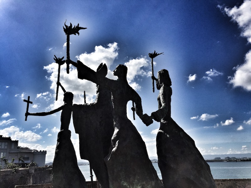 La Rogativa: A statue in Old San Juan depicting Puerto Ricans making a plea to God for help