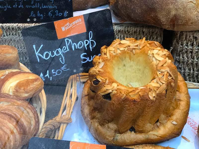 Kougelhopf cake in Strasbourg, France