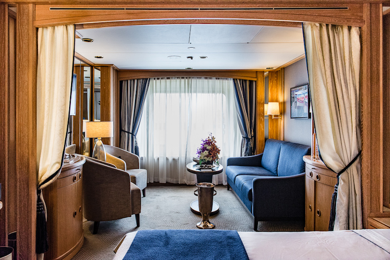 Suites on the Star Legend are spacious and tastefully-appointed (Credit: Tom Fakler)