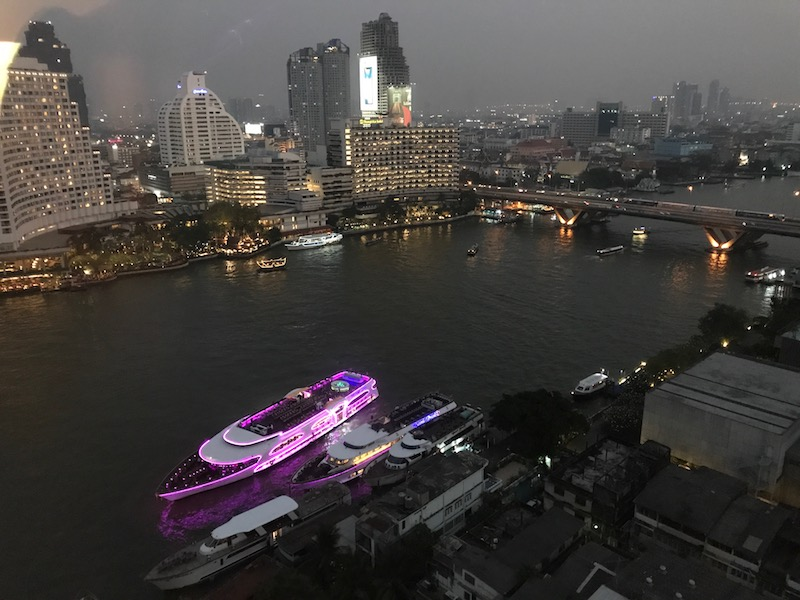 Evening View of Chao Phraya River