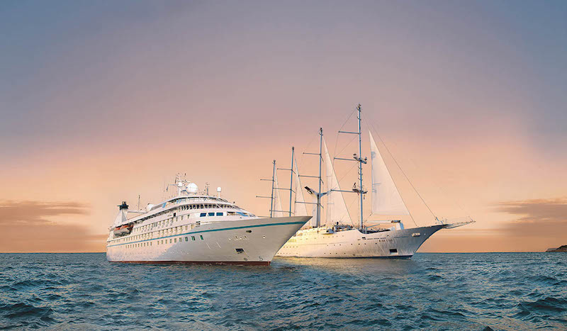 Windstar's Star Legend and Wind Surf: Suites or Sails (Credit: Windstar Cruises)
