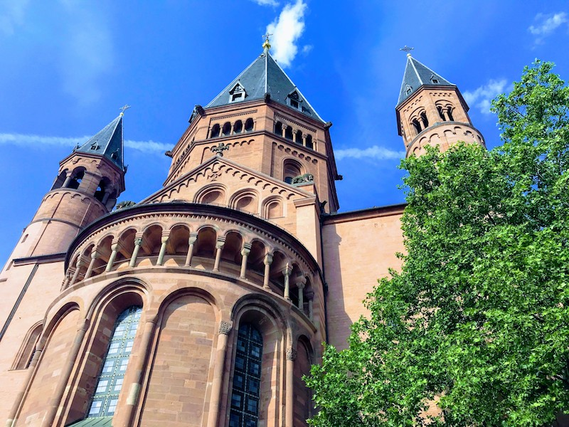 Cathedral in Mainz, Germany (Credit: Jerome Levine)