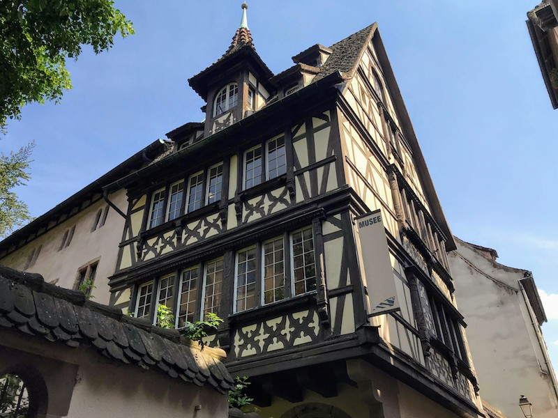 Half-timbered house in Strasbourg, France (Credit: Jerome Levine)