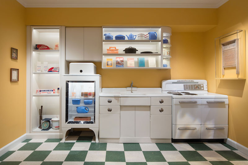 A 1940s kitchen