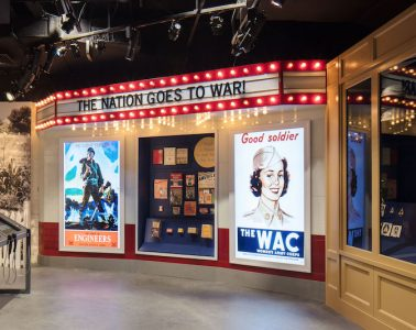 American Responds exhibit at the National World War II Museum