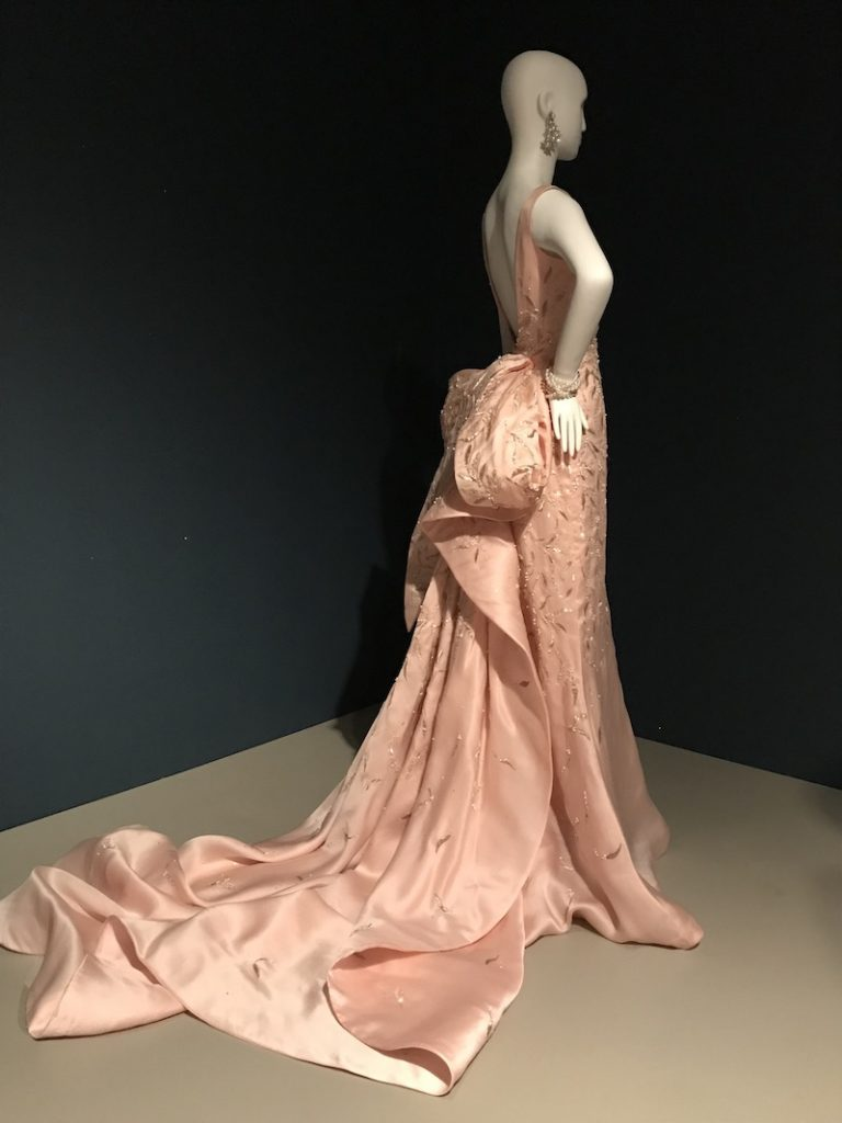 Taylor Swift wore this elegant blush-pink gown to the Metropolitan Museum of Art gala