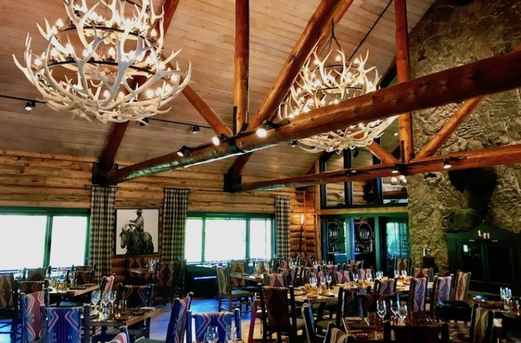 Rustic Dining Room at Lone Mountain Ranch