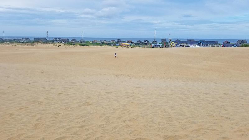 Jockey's Ridge State Park boasts the largest sand dune on the East Coast