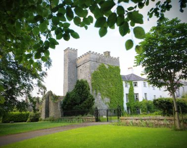 Exterior of the Castle (Credit: Barberstown Castle)
