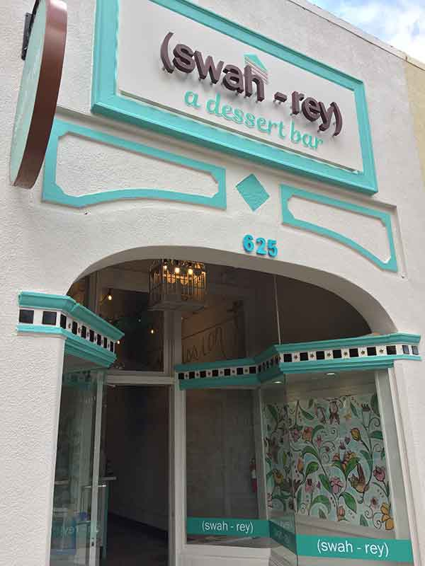 Places to eat in downtown St. Pete: Swah-rey dessert bar, St. Pete, FL