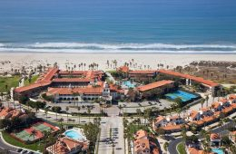 Aerial view of the property (Credit: Embassy Suites by Hilton)