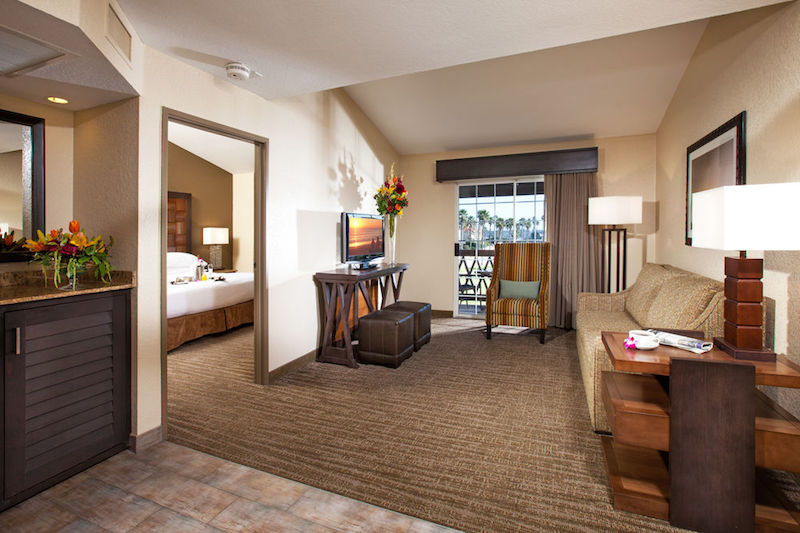 A spacious suite (Credit: Embassy Suites by Hilton)