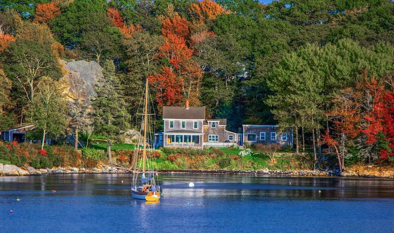 Lake Winnipesaukee in New Hampshire