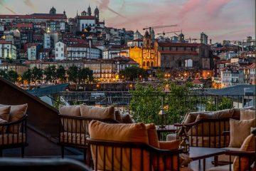 Porto from 17.56 Enoteca Terrace (credit: Real Companhia Vehla)