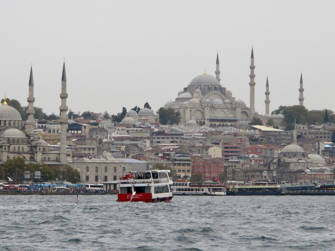 When in Istanbul, don't miss cruising on the Bosphorus.