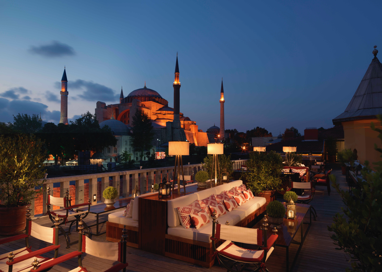 Travel through time in Istanbul, Turkey
