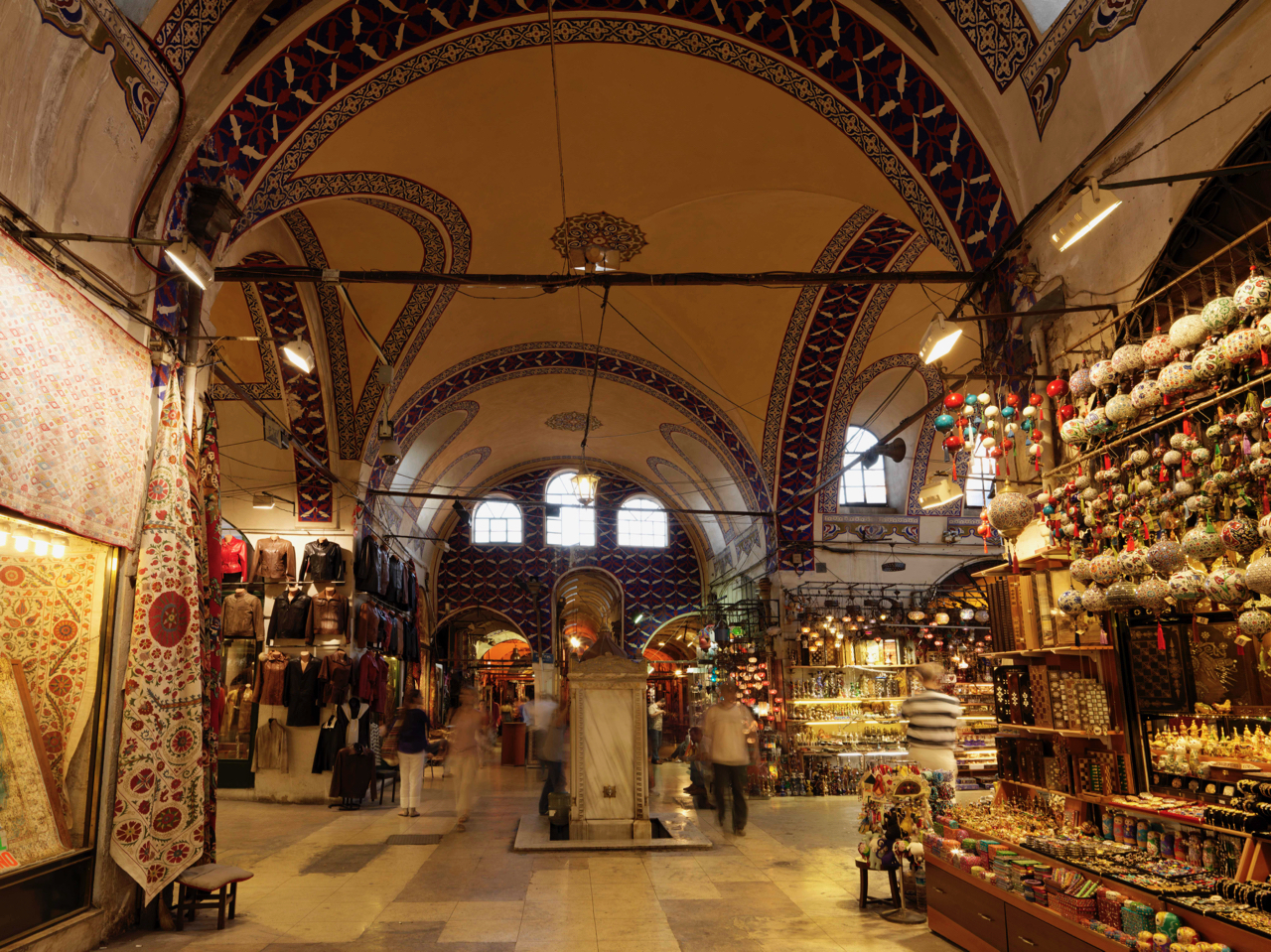 Shop to you drop in Istanbul's Grand Bazaar.