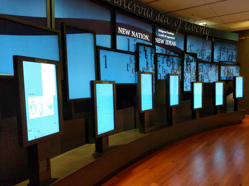 The Boisterous Sea of Liberty Exhibit