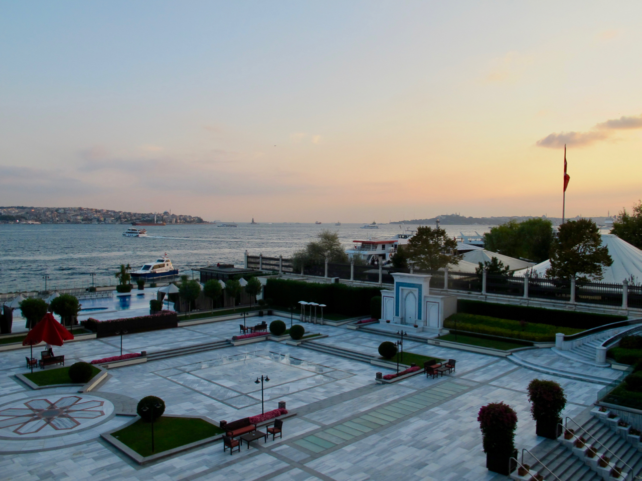 Sunset on the Bosphorus is not to be missed.