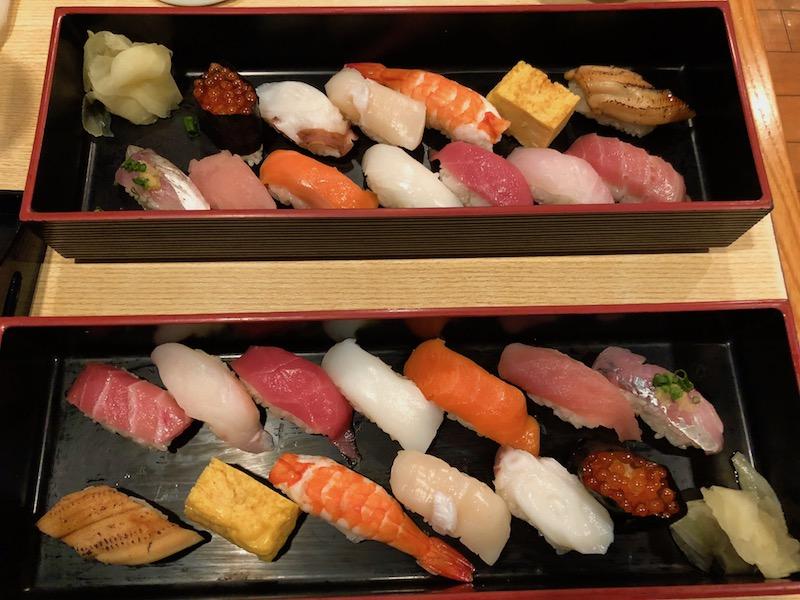 Very fresh sushi