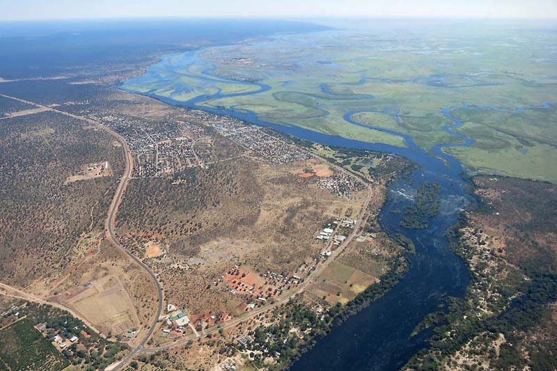 Kasane: Where the Chobe & Zambezi Rivers meet