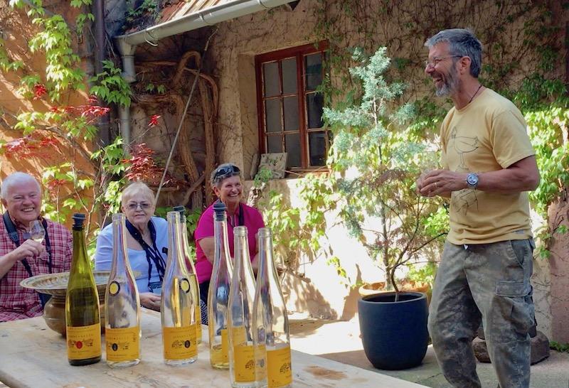 winemaker in the Alsace region