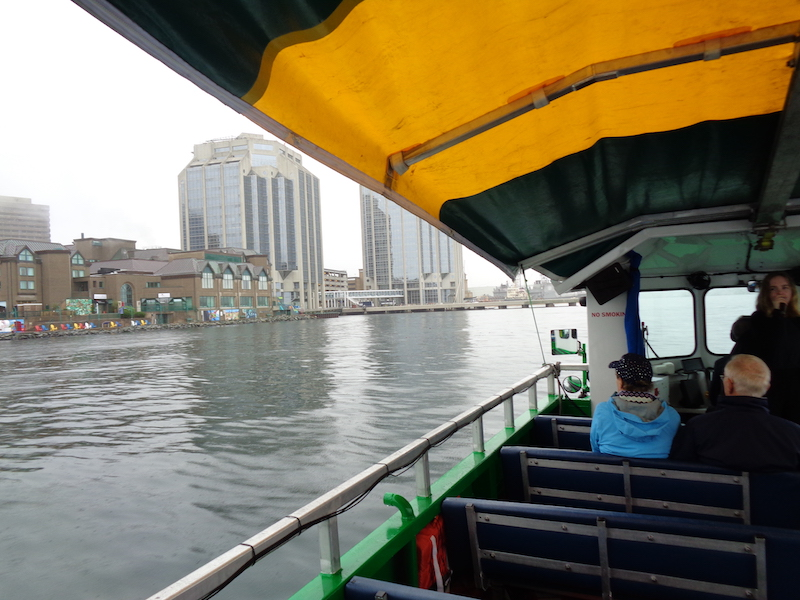 View of Halifax from our duck boat