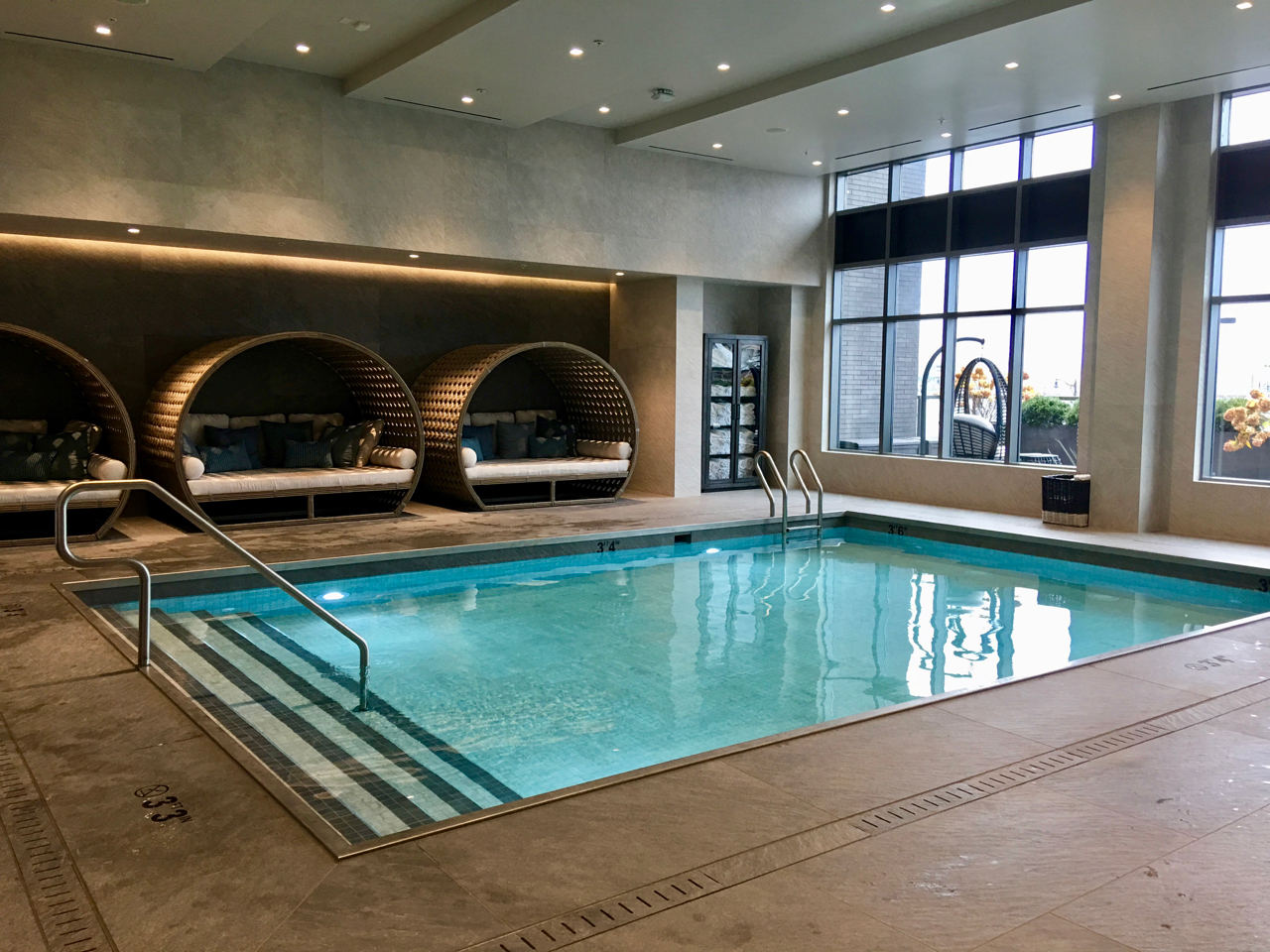 Swim, workout, catch rays at the wellness center