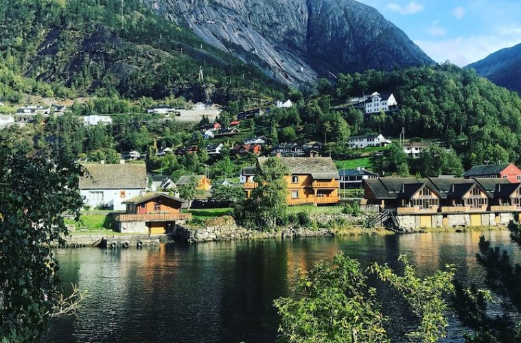 A scenic fjord on my Scandinavian Viking Cruise