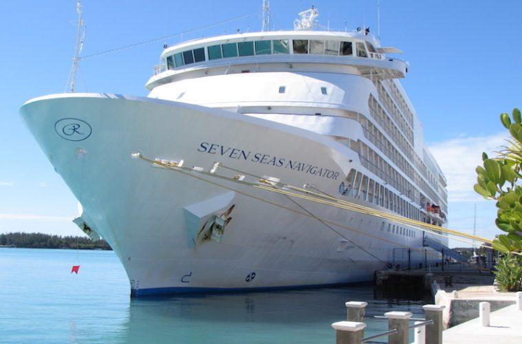 Seven Seas Navigator at port