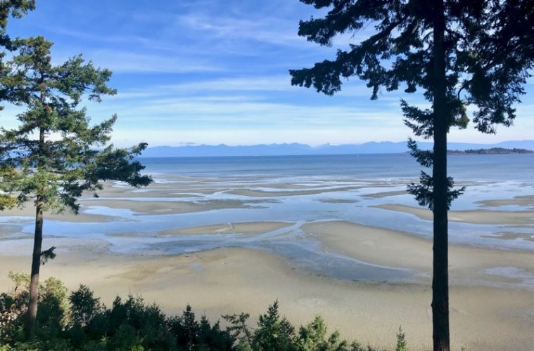 View from Tigh-Na-Mara Seaside Spa Resort on Vancouver Island