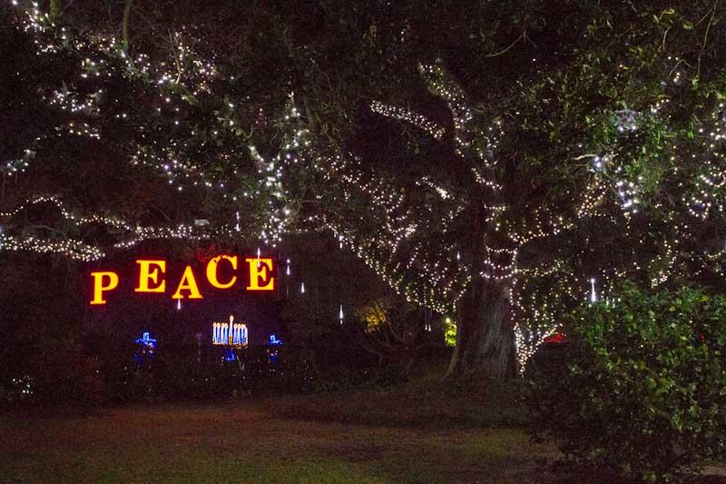 Family-friendly festive New Orleans tradition at the Celebration in the Oaks inside City Park (Photo credit: Deborah Burst)