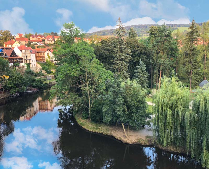 VItlava River