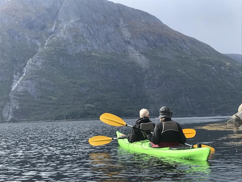 Kayaking in Eidfjord
