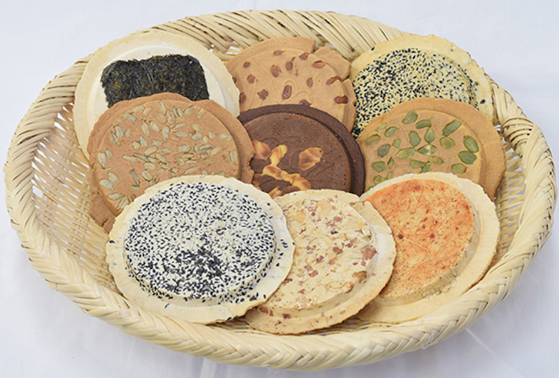 Sembei rice crackers (Photo credit: Iwate Prefecture)