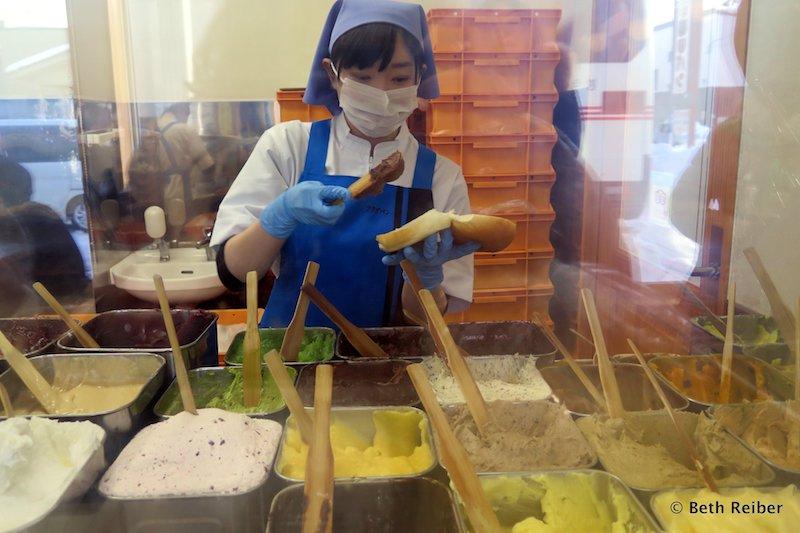 Fukuda Pan shop in Morioka