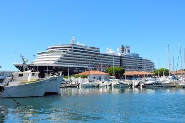 Holland America's Westerdam docked in Toulon