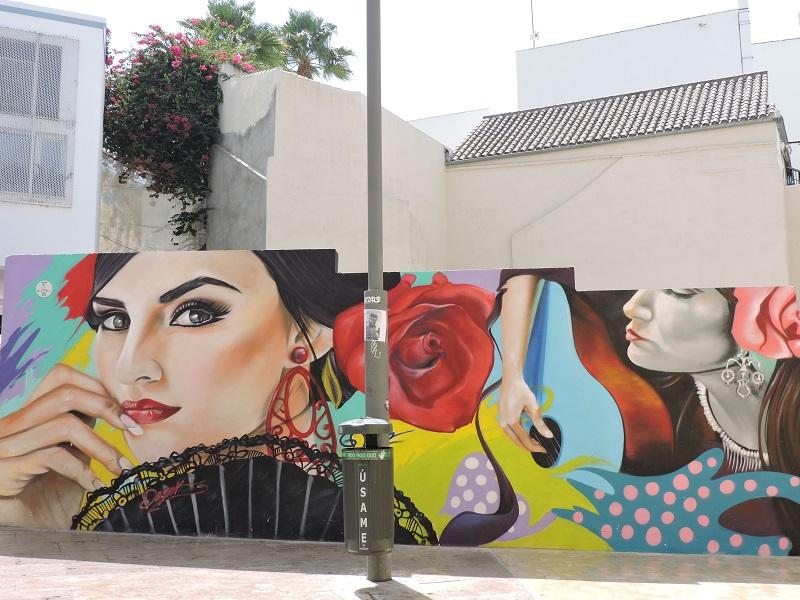 Malaga mural