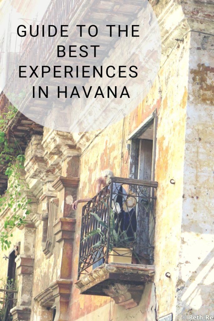 BEST EXPERIENCES IN HAVANA