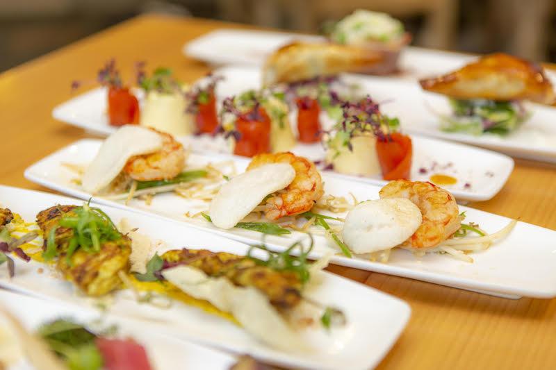 Beautifully plated dish at Treetops Tapas & Grill