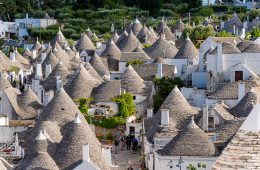 Most Popular Posts #5 Numerous Trulli domed house