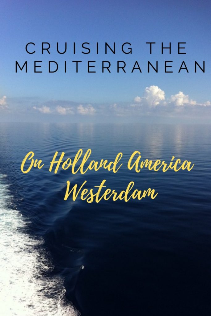 Mediterranean on Holland America Westerdam