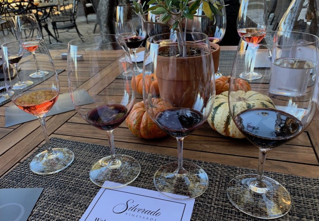 Relax and enjoy a slow-paced Napa wine experience at Silverado. Vineyards