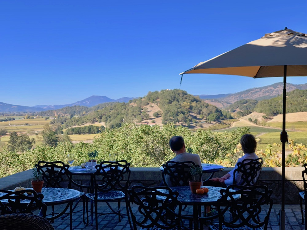 enjoy a slow-paced Napa wine experience at Silvrado Vineyards.