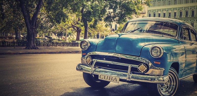 An antique car in Cuba (Credit: Pixabay)