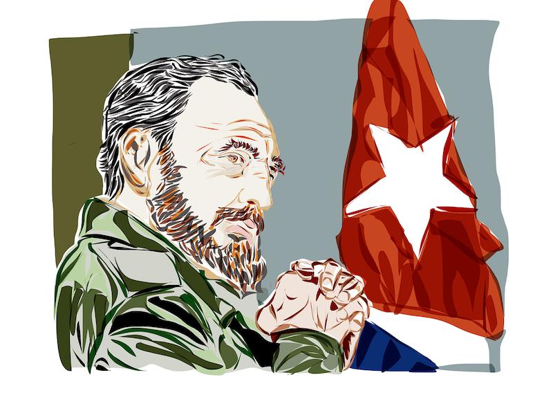 Fidel Castro (Credit: Pixabay)