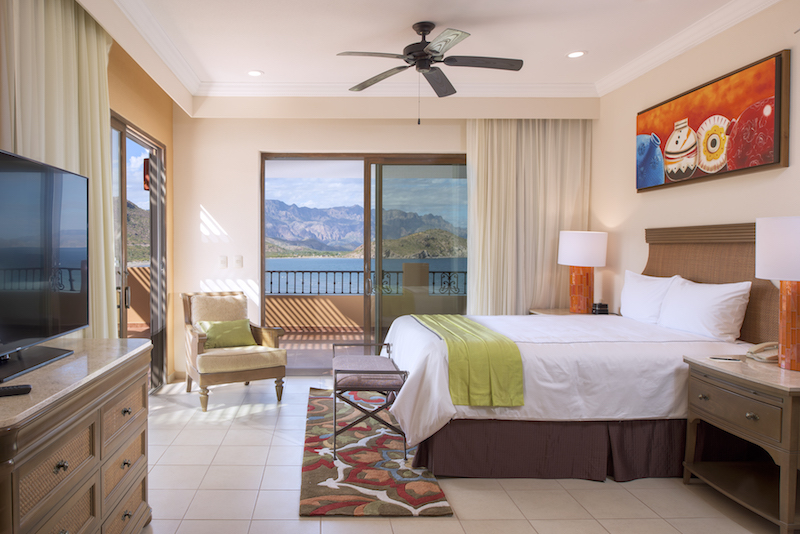 Room with a view (credit: Villa del Palmar)