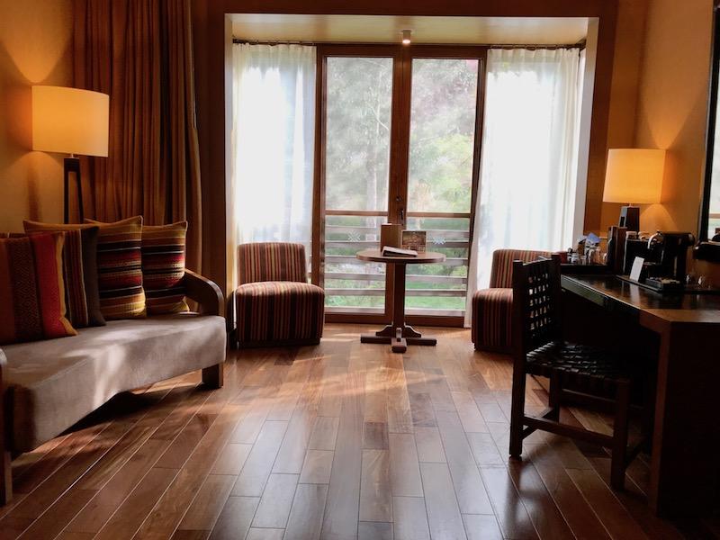 A guestroom at Tambo del Inka
