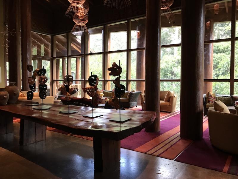 Lobby of Tambo del Inka