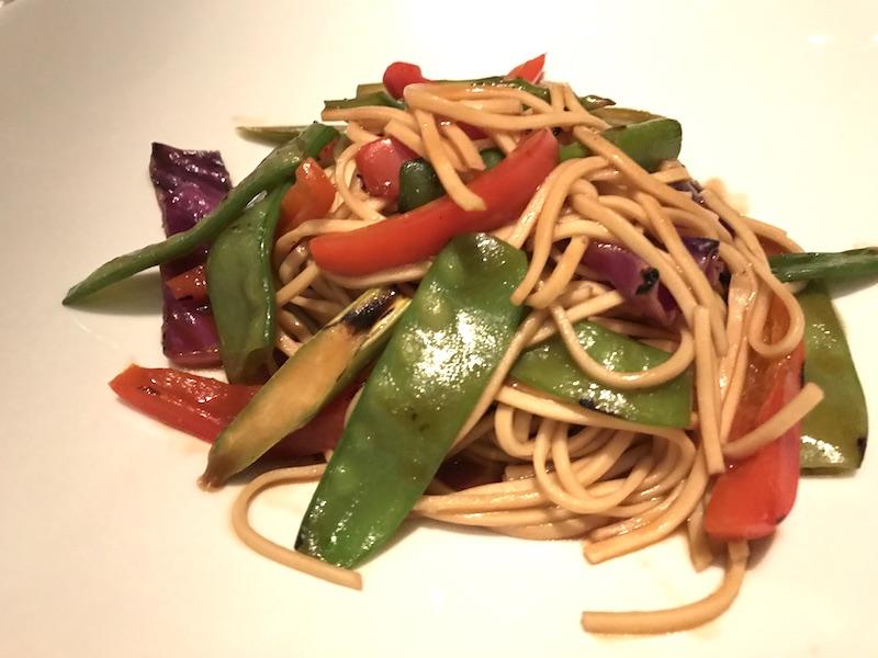 Oriental Noodle entree